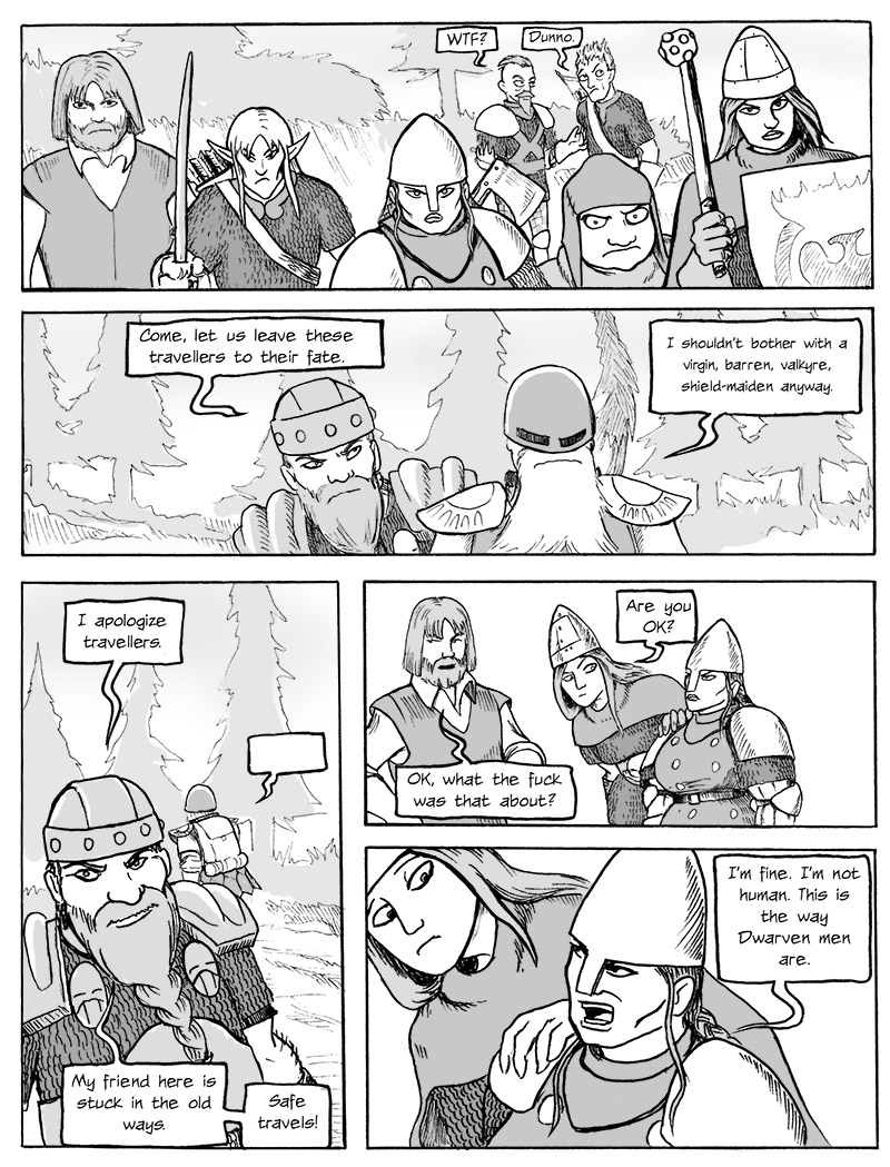 Confrontation with the Dwarf Brothers p.3