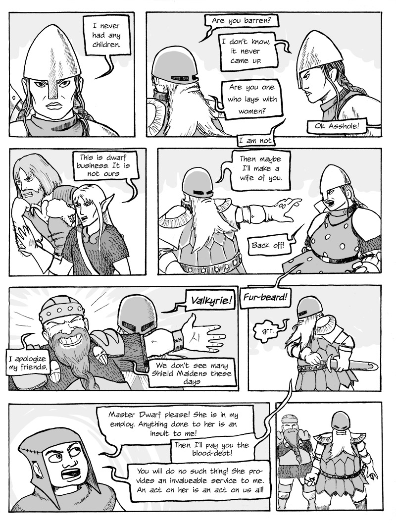 Confrontation with the Dwarf Brothers p.2