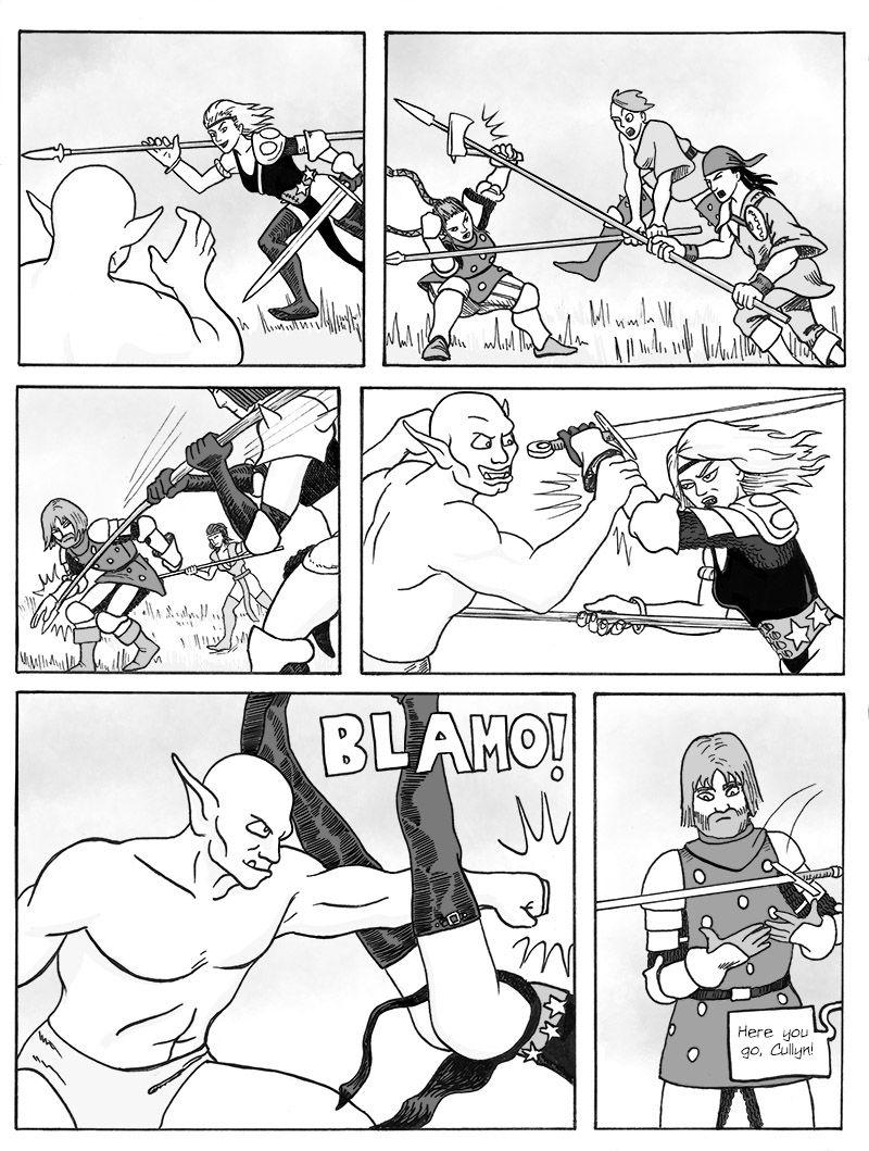 Bandit Attack, Pg 2
