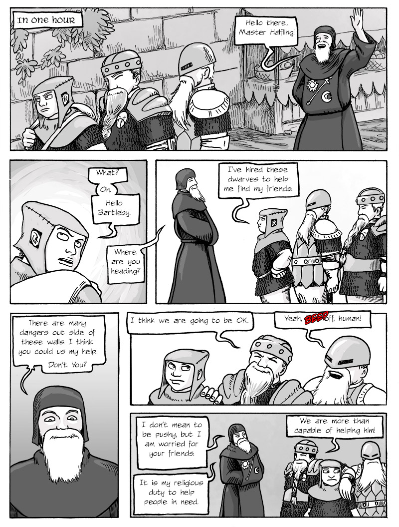 And now the Cleric shows up...
